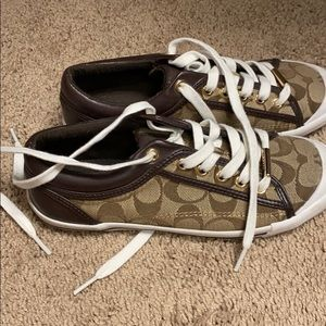 Coach Tennis shoes size 6.5